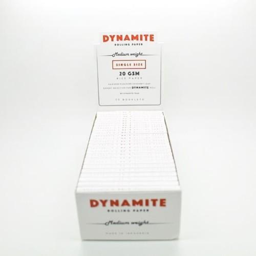 Foto Produk Jual Rolling Paper Single White + Tbk Strawberry Mint dari T.Dynamite