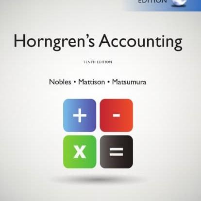 Foto Produk Horngren's accounting dari Herni_Store