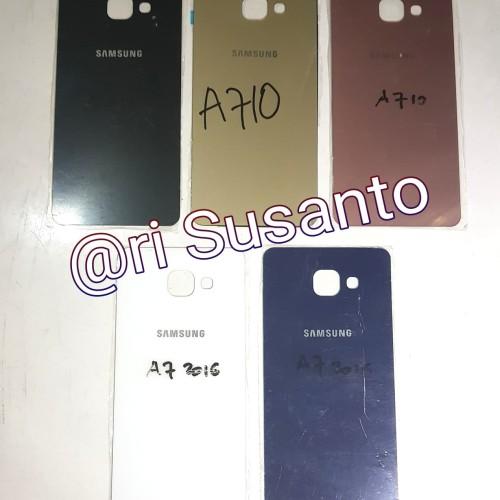 Foto Produk Backdoor / Tutup Baterai Hp Samsung Galaxy A710 / A7 2016 Bahan Kaca dari Ari Susanto Store
