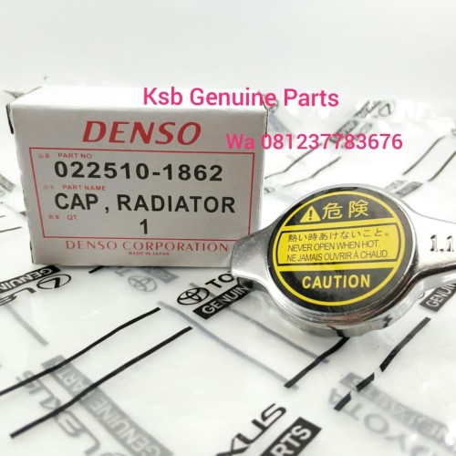 Foto Produk Cap Tutup Penutup Radiator Avanza Xenia Rush Innova Yaris Vios Fortune dari KSB Genuine Parts