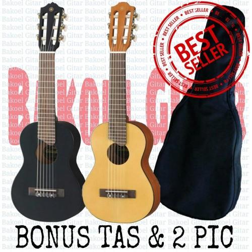 Foto Produk Gitar mini,gitar lele,gitar kecil kualitas original|surabaya - Cokelat Muda dari dapid bakoel gitar