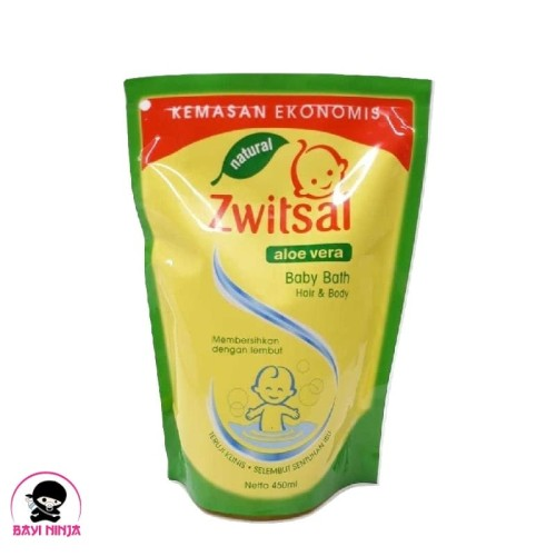 Foto Produk ZWITSAL BABY Bath 2in1 Natural Hair and Body 450ml / 450 ml dari BAYININJA