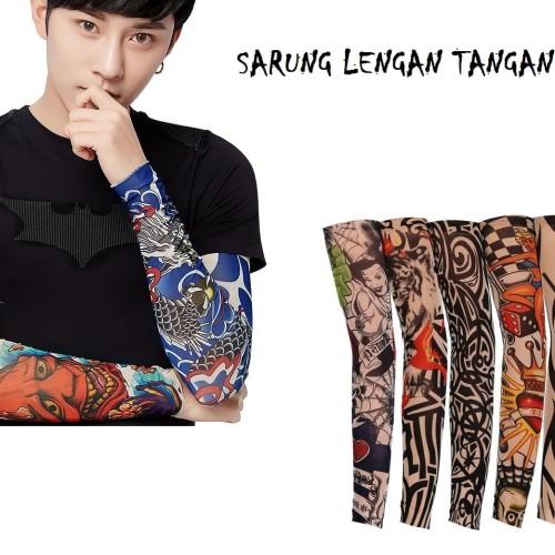 Foto Produk Sarung Lengan Tangan Tatto - Manset tangan Motif Tato dari Melvshop08