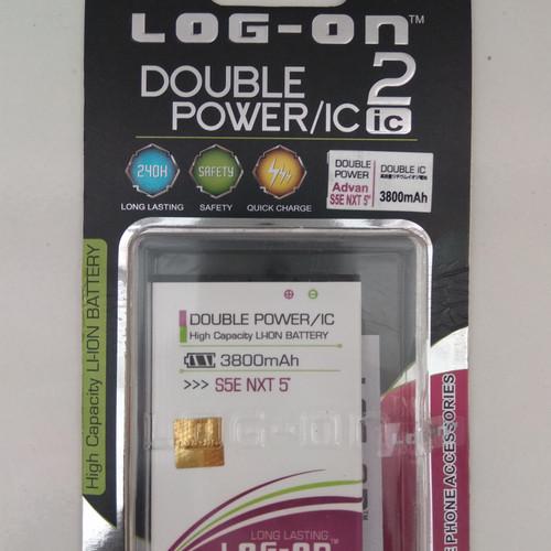 Foto Produk BATERAI LOG-ON ADVAN S5E NXT DOUBLE POWER IC BATRE BATTERY S5E NXT dari KAKA_Shop Official