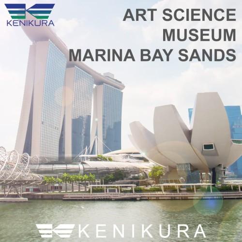 Foto Produk Tiket Art Science Museum Singapore SG Marina Bay Sands ArtScience dari Kenikura Tour