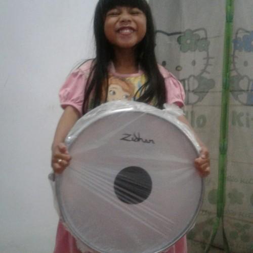 Foto Produk snare drum 14 inc suporter - Putih dari khanza toko