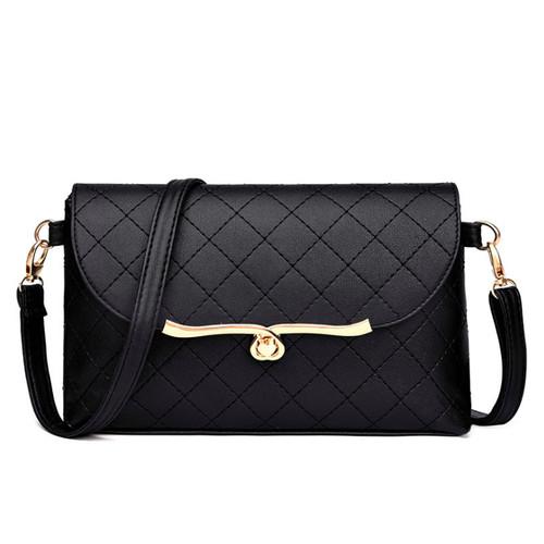 Foto Produk Tas Selempang Wanita Import WB218 Slempang Fashion Bag - Hitam dari Raja OB