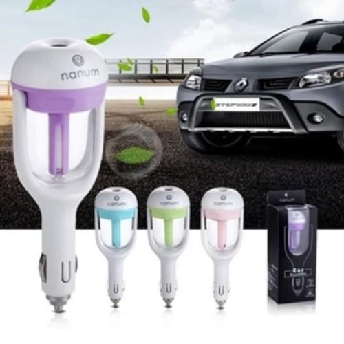 Foto Produk Nanum Car Humidifier Diffuser AromaTherapy Mobil Pelembab Kabin Car dari lbagstore