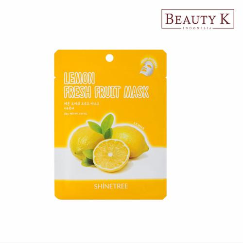 Foto Produk BeautyK Shinetree Lemon Fresh Fruit Mask Sheet dari BeautyK Indonesia