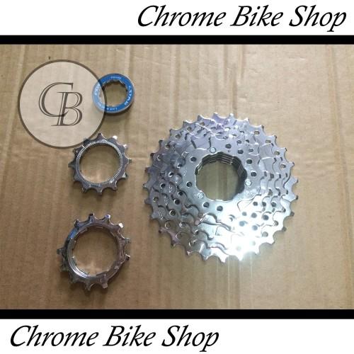 Foto Produk Sprocket Sproket Casette Cstar 7 Speed 11-28T dari Chrome Bike Shop