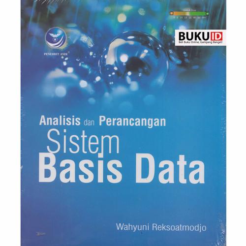 Foto Produk Buku Analisis Dan Perancangan Sistem Basis Data dari Buku ID