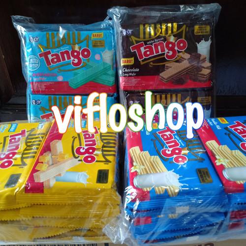 Foto Produk Wafer Tango 47 gram / Tango Wafer 47 gram dari Viflo Shop