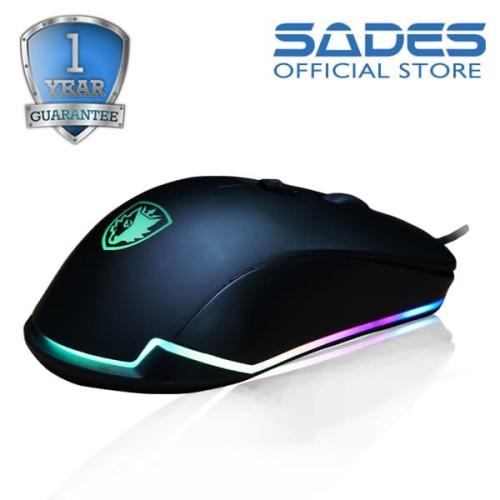Foto Produk Sades Lance RGB Gaming Mouse dari Sades Official Store