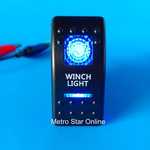 Foto Produk Rocker Switch Saklar Model ARB - Winch Light dari Metro Star Online