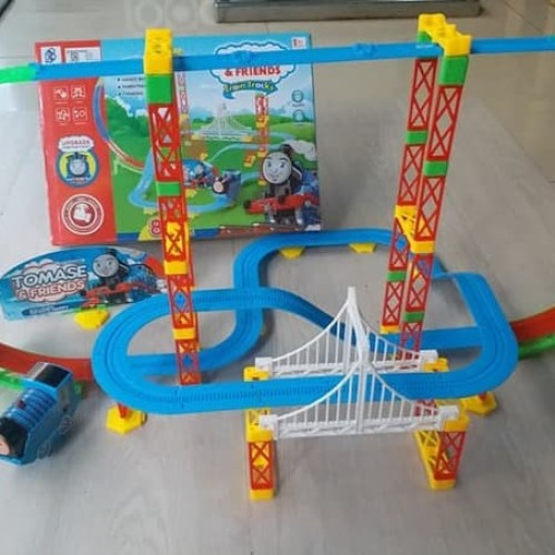 Foto Produk MAINAN KERETA API THOMAS & FRIENDS BESAR / TRAIN TRACKS ROLLER COASTER dari Smile Toyss