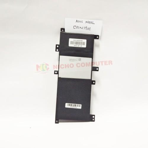 Foto Produk ORIGINAL BATTERY ASUS X455 X455L X455LA A455L A455LD A455LN C21N1401 dari Nicho Computer