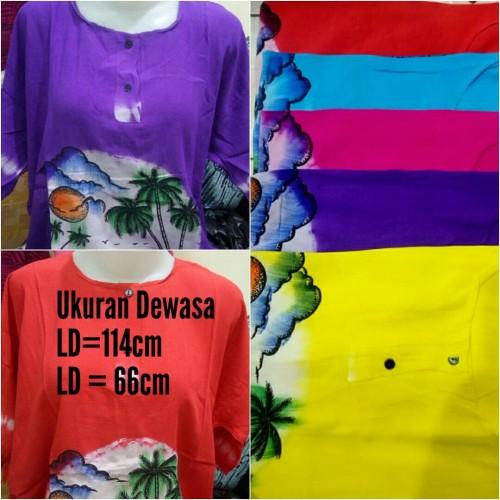 Foto Produk TerLaris Baju Pantai Bali Warna Polos Ukuran Dewasa dari Toserba online 99