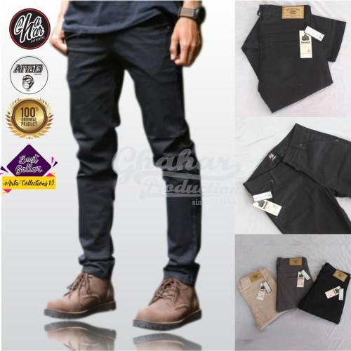 Foto Produk celana cino pria murah terbaru - Hitam dari artacollection13