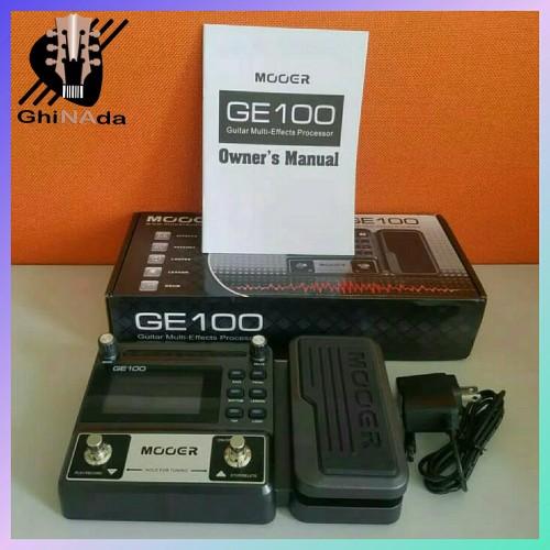 Foto Produk MOOER GE100 / Gitar Multi Efek Prosesor Efek Pedal GE 100 dari GhiNada Music