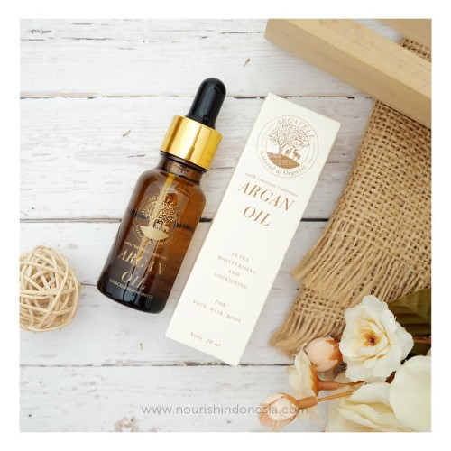 Foto Produk Argavell Certified Unrefined Argan Oil - 20ml - sourced from Morocco dari Nourish Indonesia