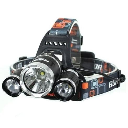 Foto Produk Senter Kepala Headlamp LED Cre XML-T6 5000 Lumens dari GROSIR-DKI