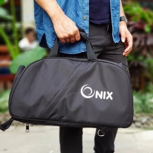 Foto Produk Onix Tas Tavel / Tas Olahraga / Gym Bag / Fitness Bag Pria & Wanita - Hitam dari T2San Store