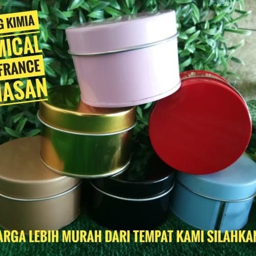 Foto Produk Kemasan Sovenir / Kemasan Souvenir / Kemasan Kaleng 180gr dari Gudang Kimia Jogja