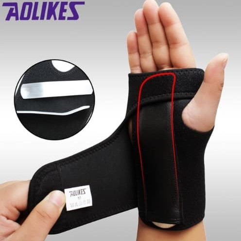 Foto Produk Wrist Brace Support Splint For Carpal Tunnel Arthritis Wrist Support - KIRI dari Tuton's Store