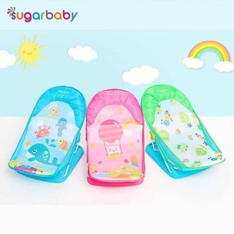 Foto Produk Sugar Baby Deluxe baby Bather / Tempat mandi bayi - Hijau Muda dari Fany Baby ITC Kuningan