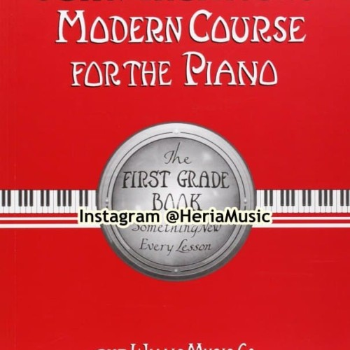 Foto Produk John Thompson's Modern Course for the Piano First Grade Book Only dari HERIA MUSIC