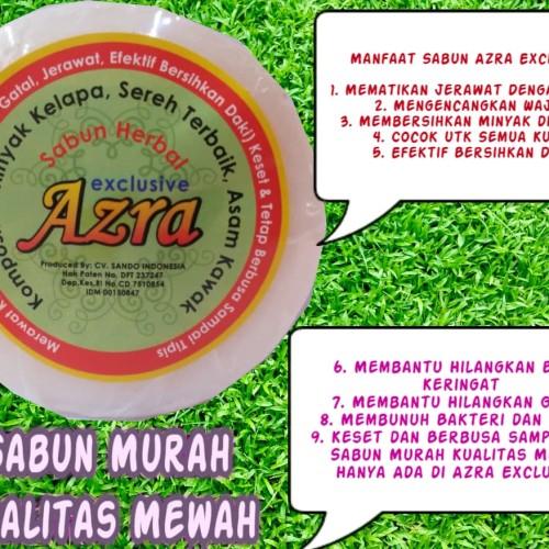 Foto Produk Bau Badan Sudah Terbukti Pake Sabun Sereh Azra Exclusive dari Pusat Prdk MLM & Herbal