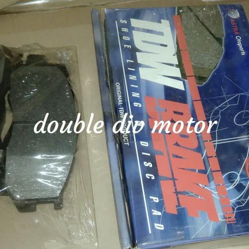 Foto Produk kampas rem depan Cakram Toyota kijang kapsul merk TDW ASLI ASTRA dari double div motor