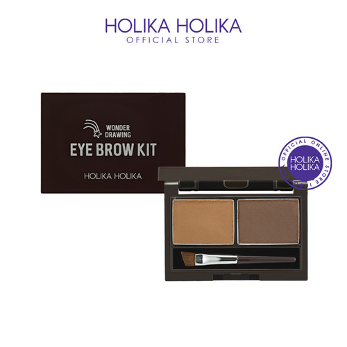 Foto Produk Holika Holika Wonder Drawing Eyebrow Kit AD (01 Choco Brown) dari Holika Holika Indonesia