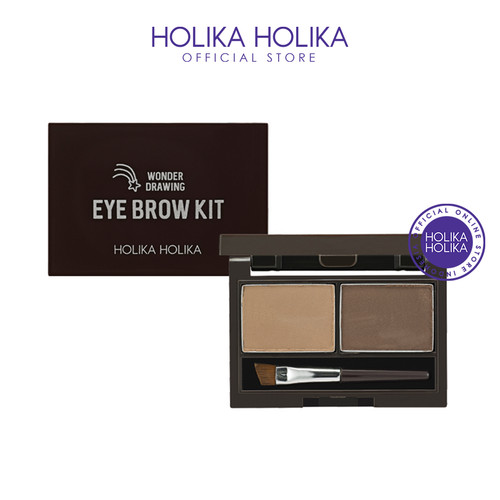 Foto Produk Holika Holika Wonder Drawing Eyebrow Kit AD (02 Ash Brown) dari Holika Holika Indonesia