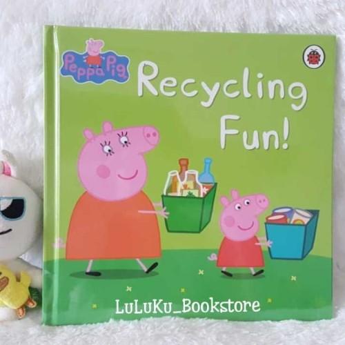 Foto Produk Buku Cerita Import Anak Story Book Peppa Pig - Recycling Fun dari LuLuKu Book Store