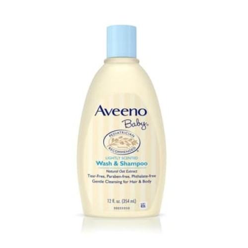 Foto Produk Aveeno Baby Wash & Shampoo 345 Ml dari Macii and Miomio
