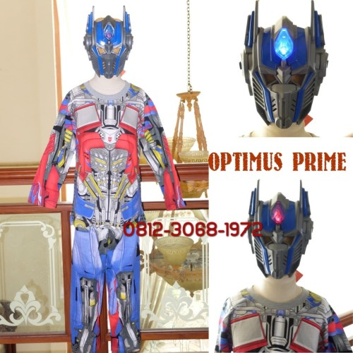Foto Produk Kostum Anak Karakter Superhero TRANSFORMER OPTIMUS PRIME 5-8 Tahun - Size 10 dari Bebagus