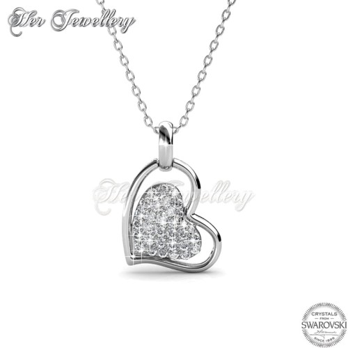 Foto Produk Her Jewellery Love Protection Pendant - Kalung Crystals Swarovski® dari Her Jewellery