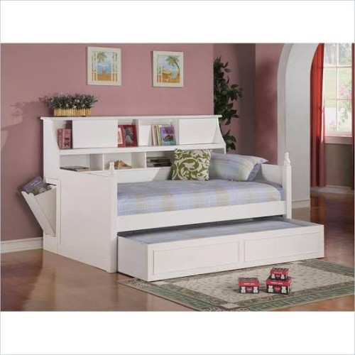 Jual Sofa Bed Daybed Kursi Bale Kayu, La Salle Twin Captain S Bed With Trundle And Storage Drawers White