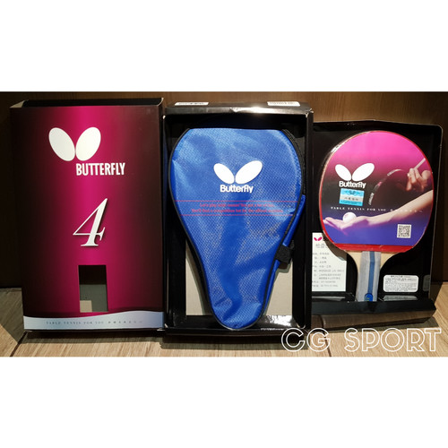 Foto Produk Bat Pingpong Butterfly TBC 402 NEW PACKAGING ORIGINAL dari CG Sport