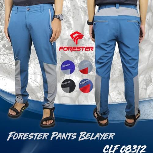 Foto Produk Forester CLF 08312 Belayer Celana Panjang Quickdry - Hitam, L dari Forester Adventure Store