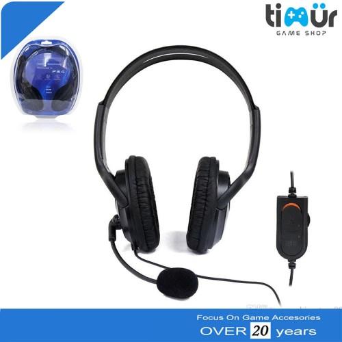 Foto Produk Gaming Headset Earphones Headphones Stereo Supper Bass for Sony PS4 dari Timur Game Shop