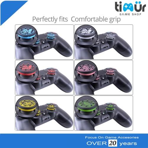 Foto Produk Thumb Grips Silikon Silicon Analog PS4 PS3 dari Timur Game Shop
