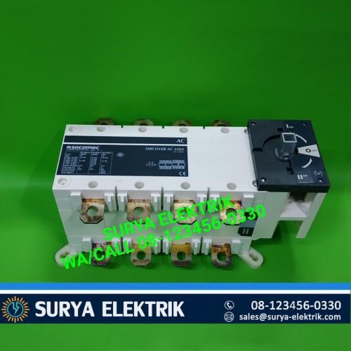 Foto Produk ohm saklar cos handel socomec 250A 250 amper 4p 41AC4025 250 socomec dari SURYA-ELEKTRIK