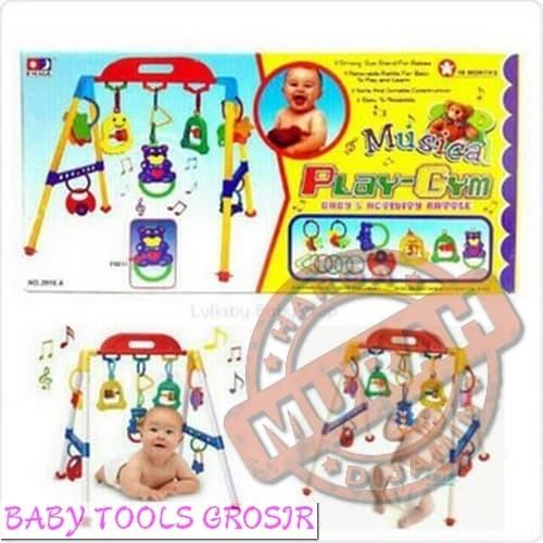 Foto Produk TERMURAH TOKOPEDIA Baby musical play gym / musik mainan rattle bayi an dari Baby Tools Grosir