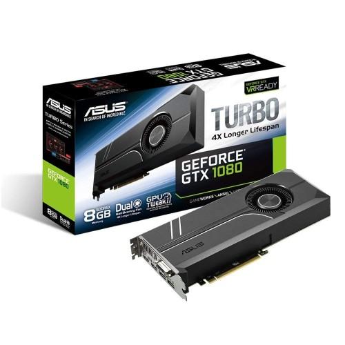 Foto Produk VGA ASUS GeForce GTX 1080 8GB Turbo Graphic Card TURBO-GTX1080-8G dari ELITUS GAMING