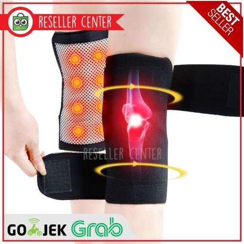 Foto Produk Pelindung Lutut Terapi Magnetik Knee Pad Size 76cm dari Reseller Center