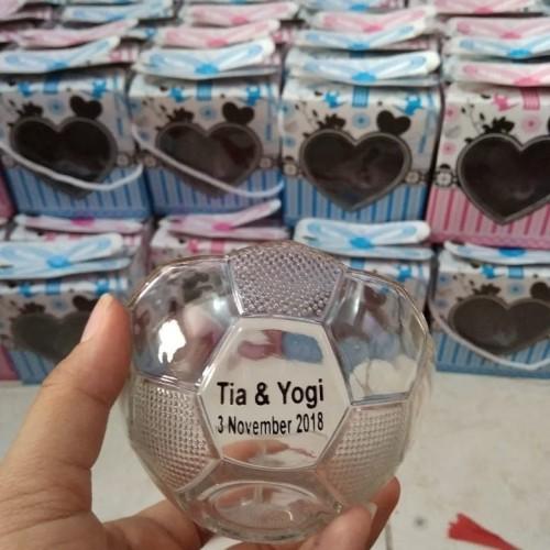Foto Produk Suvenir mangkok bola/kak dea & ryan dari purmata souvenir