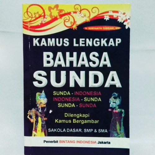 Foto Produk Kamus Lengkap Bahasa Sunda Indonesia dari Jualin Buku