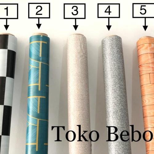 Foto Produk Jual Karpet Plastik Vinyl 1 ROLL Untuk Alas Meja dan Lantai (15 Meter) dari Toko Bebo